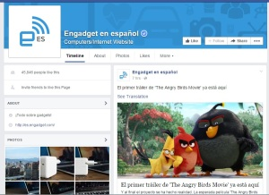 Engadget spanish facebook