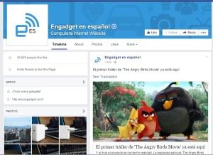 Engadget spanish facebook