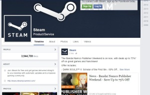 Steam facebook