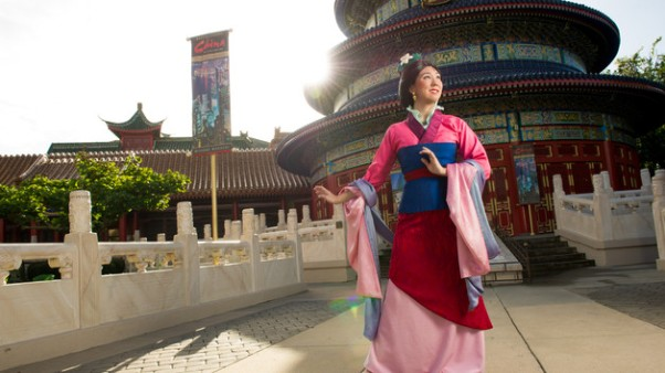 Example photo Mulan. Image copyright The Walt Disney Company (source).