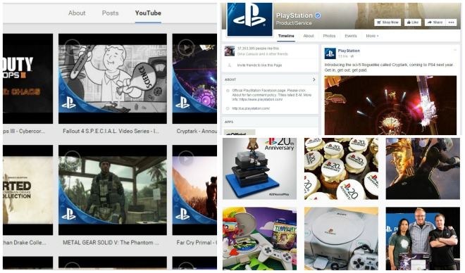 Playstation collage