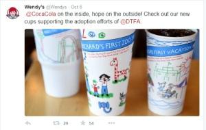 Wendy's twitter DTFA